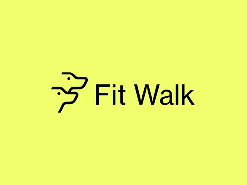 Fit Walk Logo by Kyle Anthony Miller