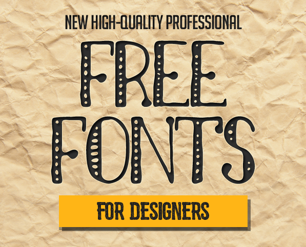 15 New Superb Free Fonts for Designers