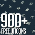 Post thumbnail of 900+ Free Icons for Web, iOS and Android UI Design