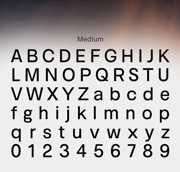 Okomito Font Letters and Numbers
