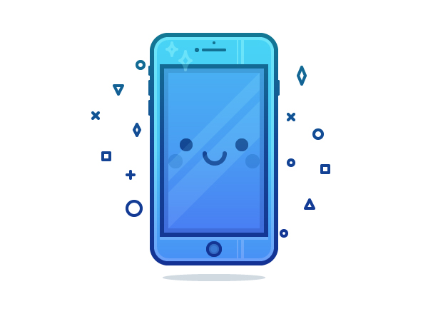 How to Quickly Create a Cute Phone Character in Adobe Illustrator
