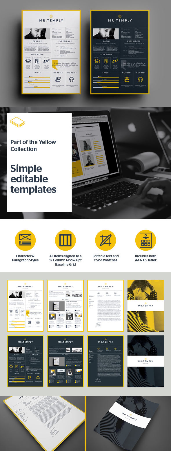 50 best resume templates design graphic design junction visual creative resume template