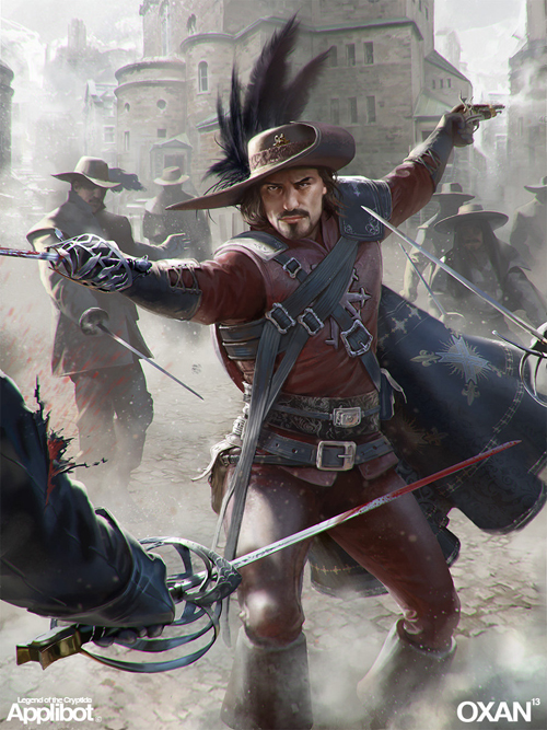 Musketeer - Applibot by Yohann Schepacz