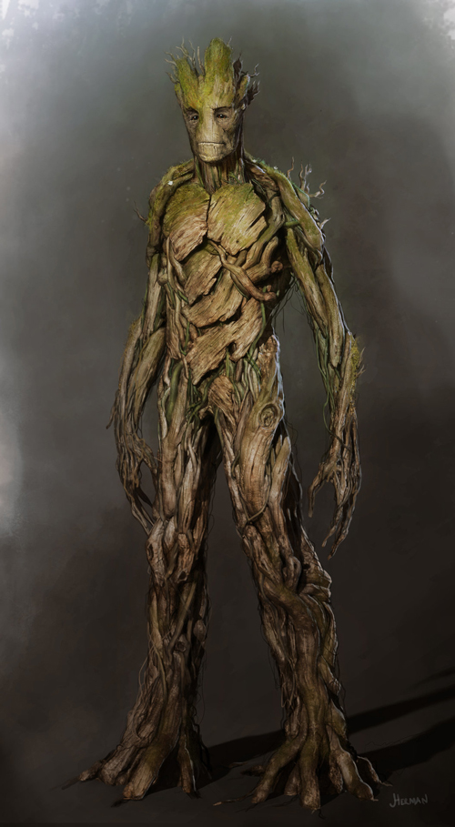 Groot by Josh Herman