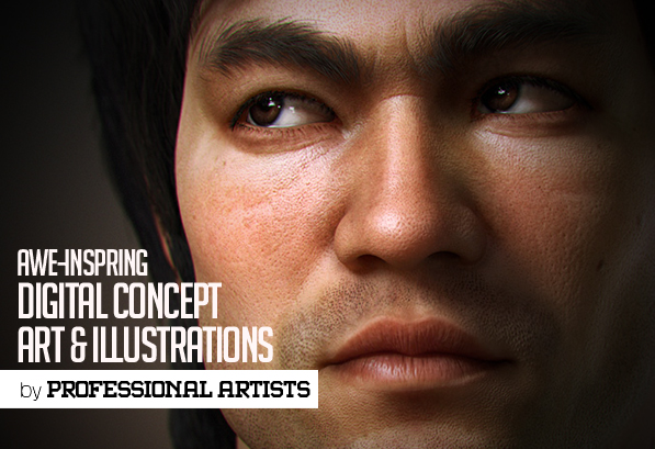 32 Awesome Inspirational Digital Concept Art and Illustrations