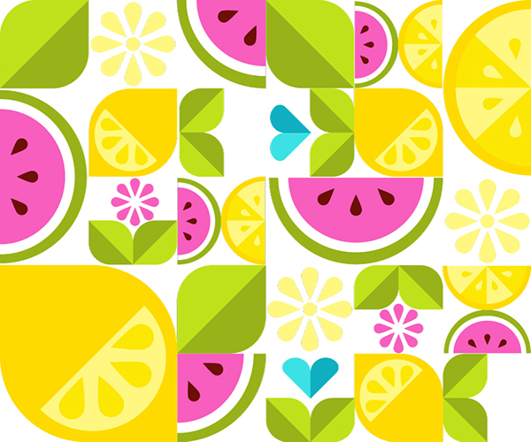 How to Create a Simple Shape Fruit Vector Design