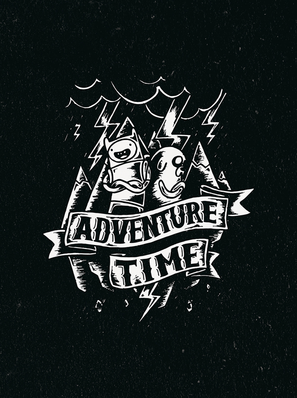 Adventure time by Dima Luk'yanov
