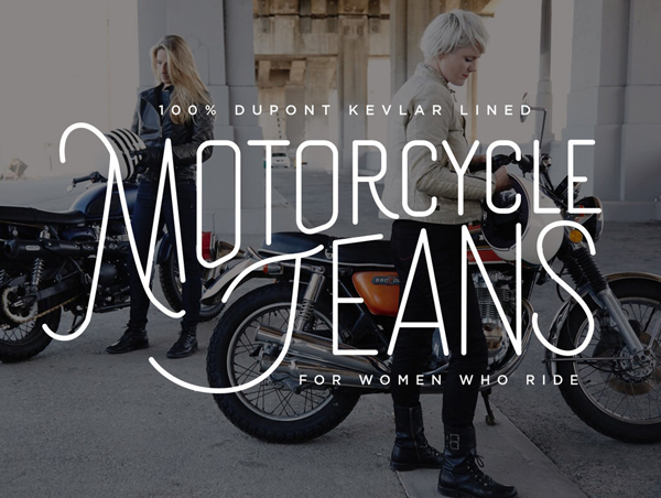 Lettering for Tobacco Motorwear by Lindsey Millen