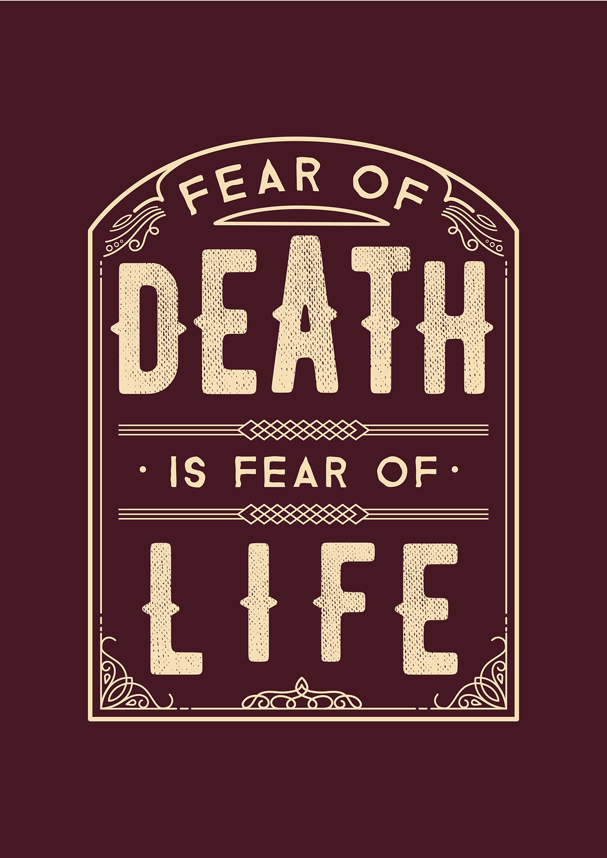 Fear of Death is Fear of Life by Hugo Lourenço
