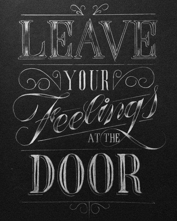 Leave Your Feelings by Mark Serrano