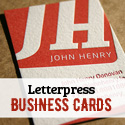Post Thumbnail of Letterpress Business Cards - 26 New Examples