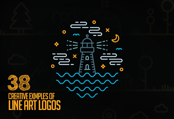 Line Art Used in Logo Design – 38 Amazing Concepts and Ideas