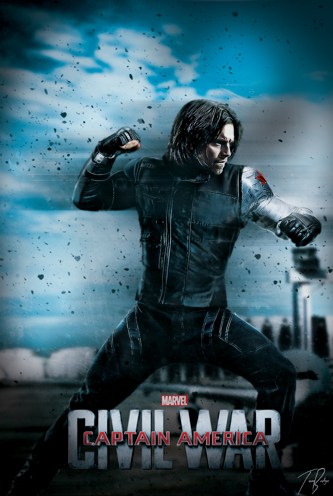 falcon marvel winter soldier poster