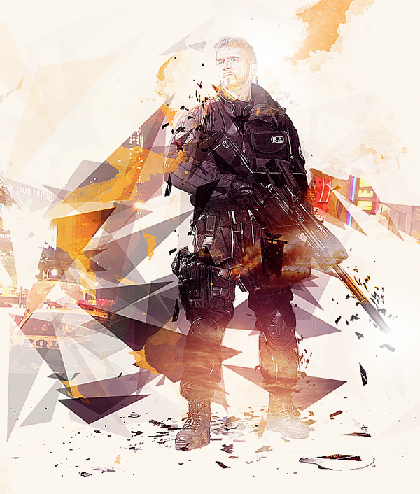 Create Photo Manipulation Inspired By 'Quantum Break' Game Box Art In Photoshop