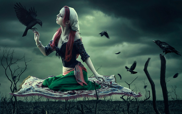 Create a Dark, Fantasy Photo Manipulation in Adobe Photoshop