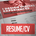 Post Thumbnail of 18 Professional CV / Resume Templates and Cover Letter