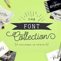Post Thumbnail of The Font Collection – 40 Beautiful PUA Encoded Fonts