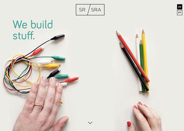 One Page Websites - 50 Fresh Web Examples - 16