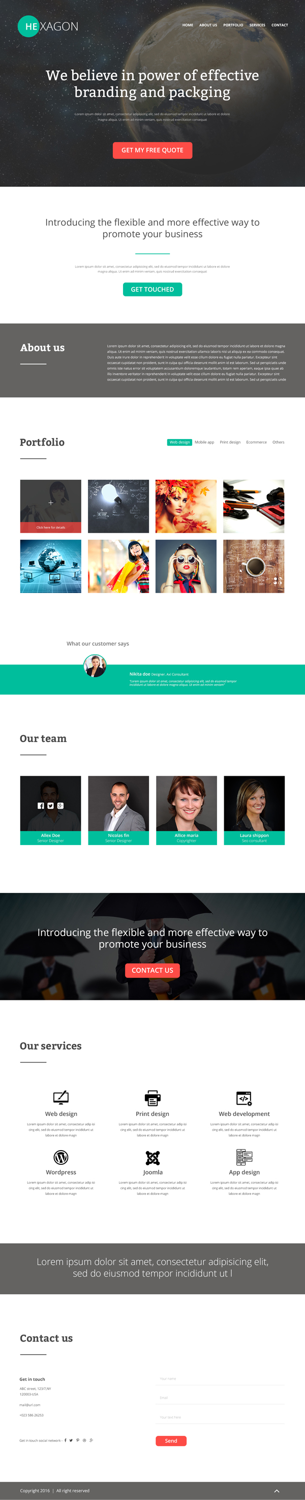new psd website templates bies graphic design junction hexagon portfolio psd website template