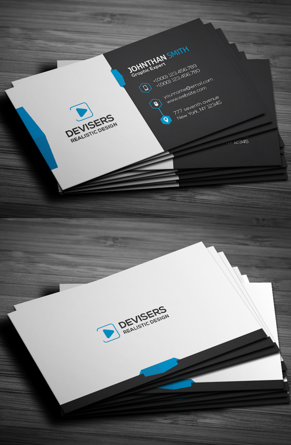 Graphic Design Business Card Templates