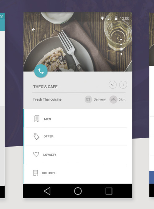 50 Innovative Material Design UI Concepts with Amazing User Experience - 36