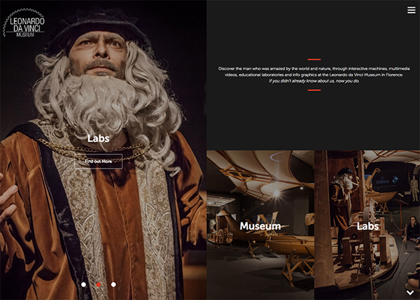 One Page Websites - 50 Fresh Web Examples - 43