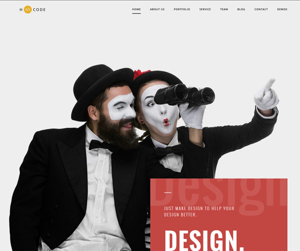 One Page Websites - 50 Fresh Web Examples - 47