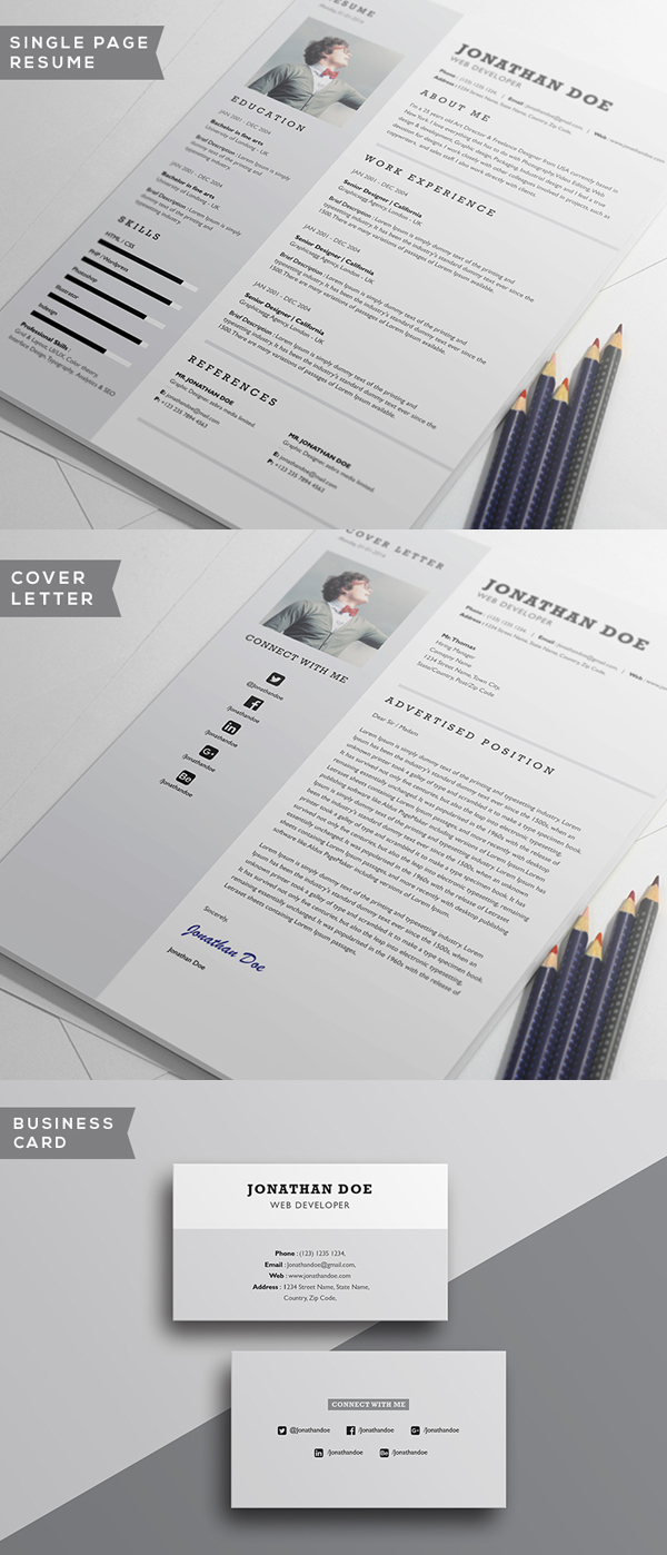 cv resume templates psd mockups bies graphic professional resume template