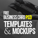 30 Free Business Card PSD Templates & Mockups