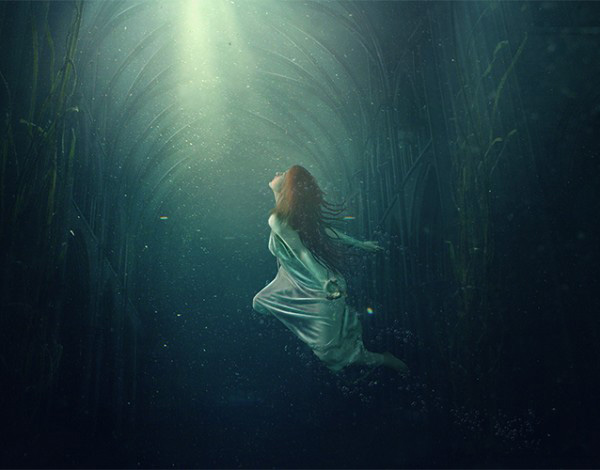 Create an Underwater Dreamscape Photo Manipulation in Photoshop