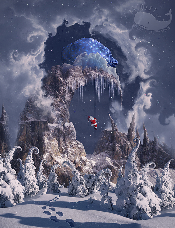 Learn How to Create Winter Magic Photo Manipulation in Photoshop Tutorial