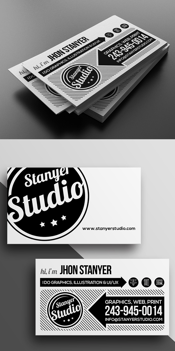 Agency/Studio Business Card Template
