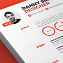 Post Thumbnail of 13 Modern CV/Resume Templates + Cover Letter & Portfolio Page