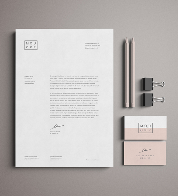 Free Advanced Branding & Stationery Psd Mockup