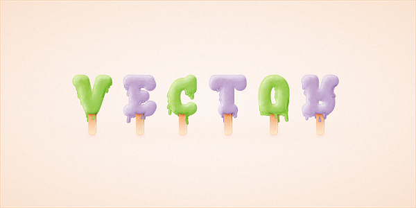 How to Create an Ice Cream Text Effect in Adobe Illustrator