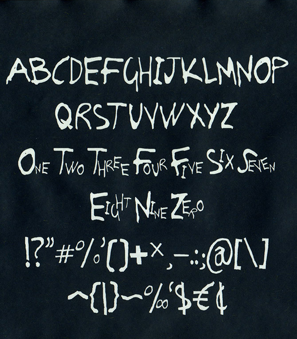 Moinho fonts and letters