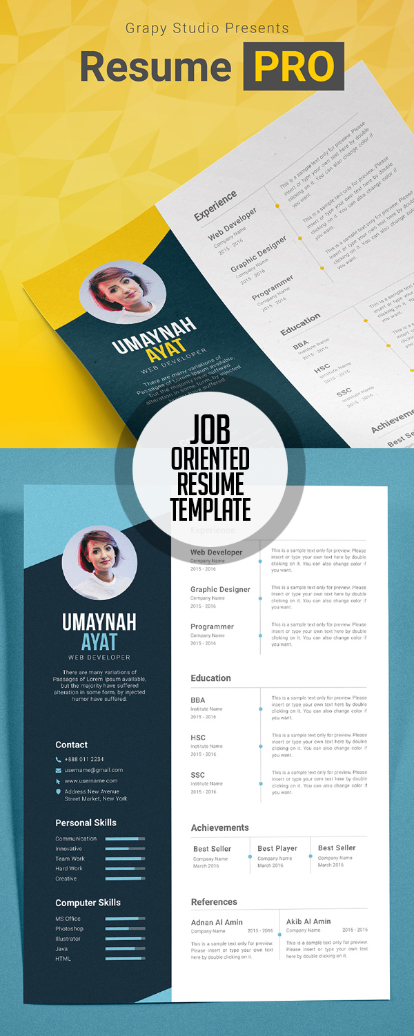 modern cv resume templates cover letter portfolio page resume pro template job interview resume