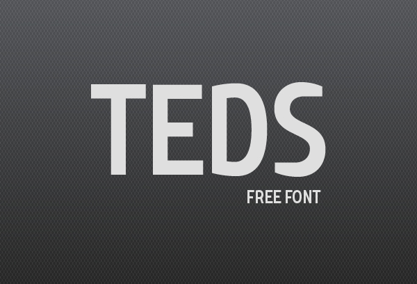 Teds free fonts