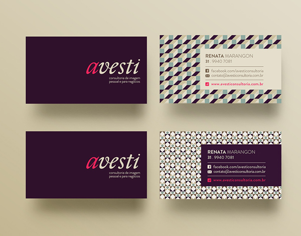 Avest Business Cards