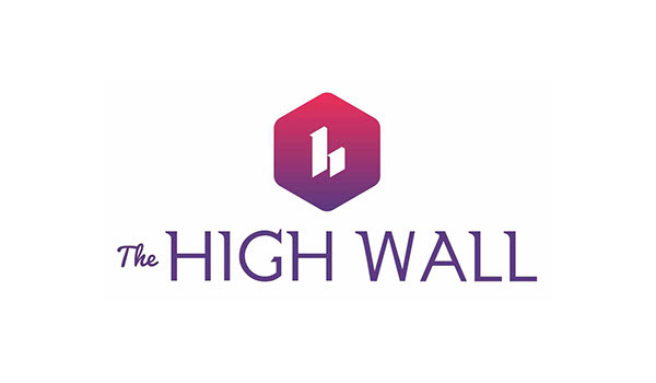 The High Wall Logo design