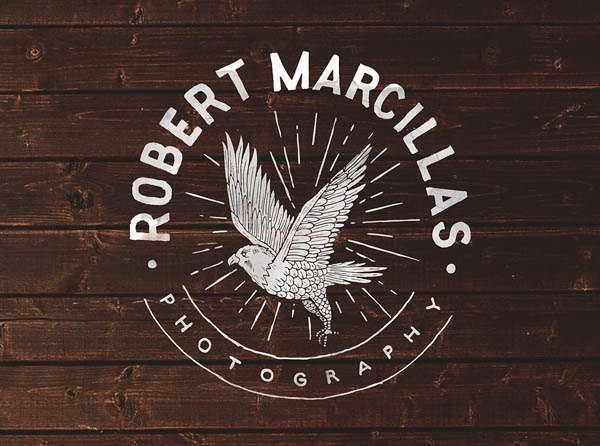 Robert Marcillas Logo design