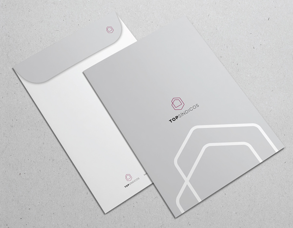 Top Síndicos Branding Stationary