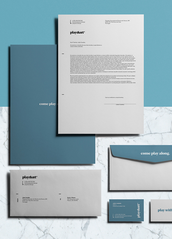 playdust Branding Stationary