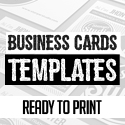Post thumbnail of Business Cards Design: 26 Ready to Print Templates