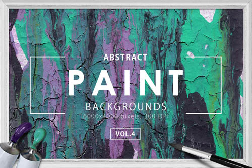 Abstract Paint Backgrounds