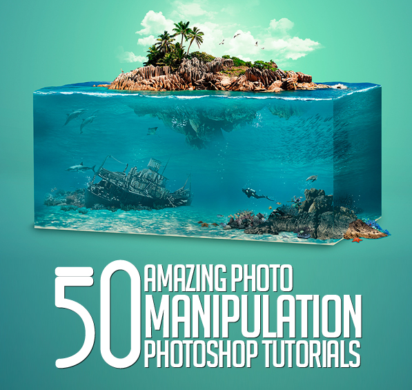how to make simple graphics on photoshop