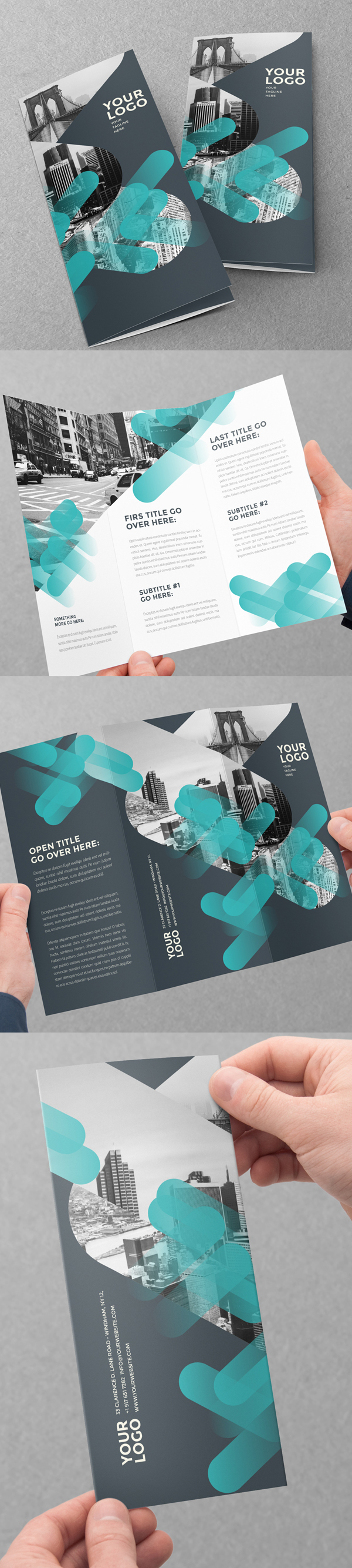 New catalog brochure design templates design graphic for Creative brochure designs