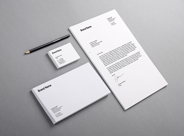 Free Branding Identity Mock-Up Template