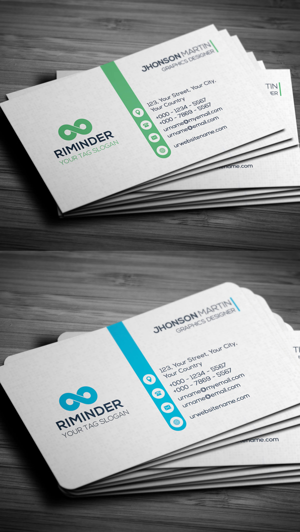 25 professional business cards template designs design