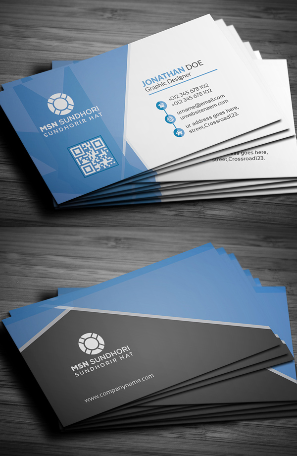 Business Card Template for Corporate Business